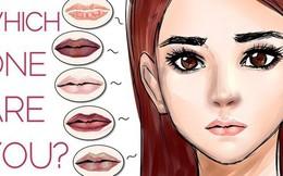 Nhận biết màu sắc đôi môi phản ánh điều gì về tình trạng sức khoẻ của bạn