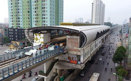Đường sắt đô thị tuyến Cát Linh-Hà Đông: Lại lùi tiến độ gần 1 năm