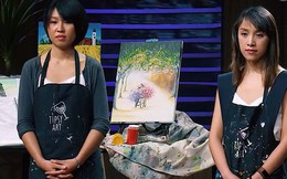 Shark Tank: Hai cô nàng xinh đẹp với dự án vẽ tranh thực tế được các Shark giành giật đầu tư