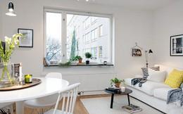 Phong cách thiết kế nội thất Bắc Âu (Scandinavia) ấn tượng trong căn hộ hơn 40m2