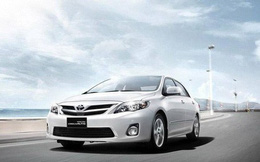 Toyota Việt Nam triệu hồi hơn 8.000 xe Corolla