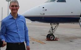 """Apple buộc CEO Tim Cook phải sử dụng máy bay riêng để đảm bảo """"an toàn và hiệu quả"""""""
