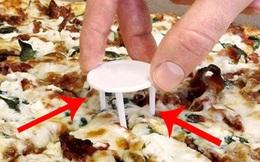 """Cái gì cũng có lý do: chiếc """"kiềng 3 chân"""" này trong mỗi hộp pizza dùng để làm gì?"""