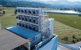 Ngay lúc này tại Thụy Sĩ: một nhà máy đang hút CO2 khỏi không khí nhằm bảo vệ môi trường