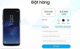Giá Samsung Galaxy S8 chính hãng sẽ đắt hơn cả iPhone 7 tại Việt Nam, đặt hàng ngay hôm nay, 5/5 sẽ nhận máy
