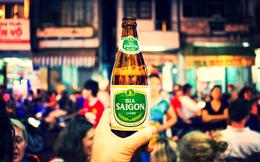 Các hãng bia Nhật 'say' cổ phiếu bia Việt