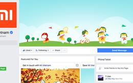 Xiaomi đã có fanpage chính thức tại Việt Nam, gửi lời chào trong status đầu tiên