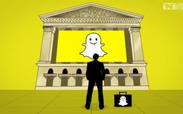 Sau phiên chào sàn như mơ, cổ phiếu Snapchat lần đầu tụt xuống thấp hơn so với giá khởi điểm