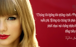"""""""Nàng rắn"""" Taylor Swift từng dọa Apple sợ tím mặt và đây là những gì Táo khuyết làm"""