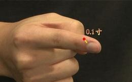 Không cần phải đỏ mặt tía tai, khi bị táo bón hãy đưa ngón tay lên rồi ấn vào một điểm