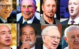 Tài sản 8 tỷ phú giàu nhất thế giới bằng của cải của 3,6 tỷ người