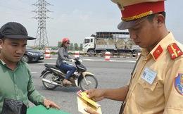 Không tăng mức xử phạt giao thông từ 1/8/2017