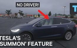 Với tính năng công nghệ hữu ích này, chủ nhân xe Tesla Model X sẽ không bao giờ lo bị ướt giày