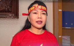 Bộ trưởng Bộ Y tế Nguyễn Thị Kim Tiến gửi kêu gọi đến cổ động viên Việt Nam