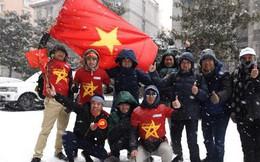 Tuyết rơi quá dày, 14h sẽ thông báo chính thức có hoãn chung kết U23 Việt Nam - U23 Uzbekistan hay không