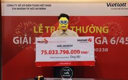 Trúng xổ số 75 tỷ đồng, người chơi trích tiền tặng đội U23 Việt Nam