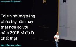 """Nguyễn Tử Quảng: """"Tôi tin những tràng pháo tay ở khán phòng này năm nay thật hơn so với năm 2015"""""""
