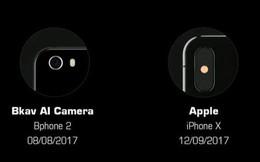 BKAV tuyên bố là nhà sản xuất đầu tiên trên thế giới đưa AI vào camera trên Bphone, trước cả Apple