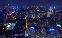 Vẻ đẹp rực rỡ của Hà Nội về đêm qua góc máy flycam  Nhịp sống Thủ đô