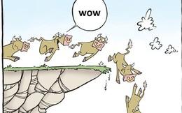 Hoảng loạn cùng hiệu ứng Dow Jones, nhà đầu tư ồ ạt bán tháo cổ phiếu khiến chứng khoán Việt bị thổi bay 50 điểm