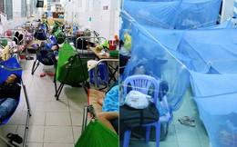 Đêm ở Bệnh viện Nhi Đồng mùa dịch: Khắp lối đi trở thành chỗ ngủ, nhiều gia đình chấp nhận nằm gần nhà vệ sinh bốc mùi