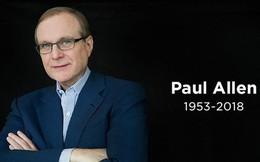 Đồng sáng lập Microsoft, Paul Allen mất vì bệnh ung thư ở tuổi 65