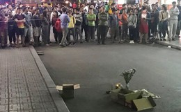 Phát hiện thi thể bé sơ sinh sau tiếng động lớn ở chung cư Linh Đàm, nghi rơi từ trên cao xuống