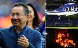 """Vụ trực thăng ở Leicester: """"Đường cong chết người"""" có thể chính là nguyên nhân"""
