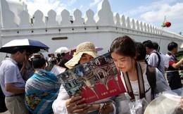 """Thái Lan như """"ngồi trên lửa"""" vì lượng du khách Trung Quốc sụt mạnh"""