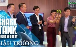 """Khi các Shark tập """"bắn tim"""": Shark Linh """"nhạc gì cũng nhảy"""", Shark Hưng bình tĩnh, tự tin, Shark Dzung Nguyễn học mãi mới theo kịp!"""