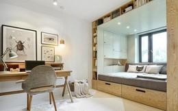 Với cách thiết kế thông minh, cô gái đã biến căn phòng 12m² đi thuê trở thành không gian sống vô cùng sang chảnh