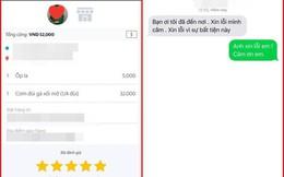 """""""Xin lỗi, mình câm"""": Tin nhắn của lái xe ôm công nghệ khiến khách hàng đang cáu giận bỗng lặng người"""