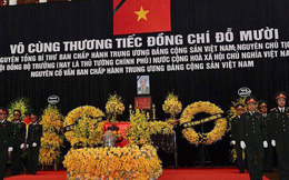 Trực tiếp quốc tang cố Tổng Bí thư Đỗ Mười