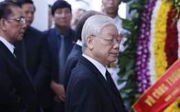 Lãnh đạo Đảng, Nhà nước viếng cố Tổng Bí thư Đỗ Mười