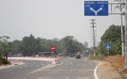 Ảnh: Tuyến đường BOT nghìn tỷ đồng cắt núi nối Hà Nội - Hòa Bình trước ngày thông xe