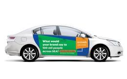 Grab rục rịch lấn sân sang cả bán quảng cáo trên xe, khả năng còn mạnh hơn cả Facebook?