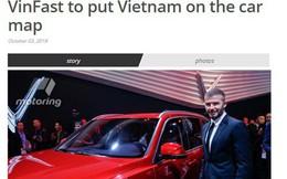 Đây là cách Vinfast xuất hiện rầm rộ trên báo chí quốc tế dù là một thương hiệu mới