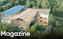 Ngôi trường đồi cách Hà Nội 40km, nơi con trẻ được thoải mái vẫy vùng và bỏ xuống gánh nặng điểm số