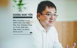 Năm 32 tuổi, đang là trưởng phòng, ông Hoàng Nam Tiến xin nghỉ việc, Chủ tịch Trương Gia Bình đã nói 1 câu khiến FPT không mất người mà còn được lợi