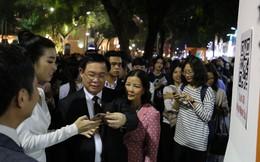 Khai mạc ngày mua sắm trực tuyến lớn nhất Việt Nam tại phố đi bộ hồ Gươm