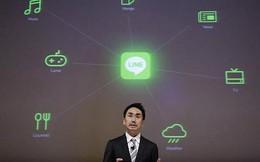 Softbank mua lại mảng di động của ứng dụng chat Line
