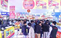 Bùng nổ thị trường điện máy mùa Tết