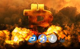 Bitcoin lao dốc: Thủng mốc 9.000 USD, xuống thấp nhất 2 tháng và vẫn chưa nhìn thấy đáy