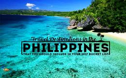 Philippines tặng nhà và xe hơi nếu người dân mời được du khách quốc tế đến chơi