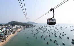 Toàn cảnh nhìn từ trên cao tuyến cáp treo dài nhất thế giới tại Việt Nam vừa khai trương