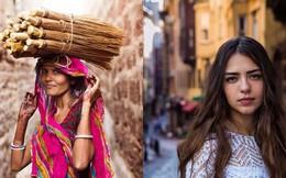 """Bỏ 5 năm đi vòng quanh thế giới, nhiếp ảnh gia đã cho ra đời """"bản đồ sắc đẹp phụ nữ"""" khiến người xem ngỡ ngàng"""