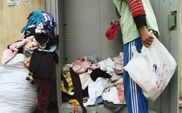 """Cái kết buồn của tủ quần áo """"ai thừa ủng hộ, ai thiếu đến lấy"""" ở Hà Nội: Người gom đồ từ thiện đi bán, người tặng cả áo rách, quần lót cũ"""