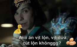 """Bất mãn vì """"The Shape of Water"""" thắng Oscar, dân mạng lôi nhau đi ăn trứng vịt luộc!"""