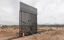 Cận cảnh bức tường ngăn cách Mexico cao 5,5 mét mà tổng thống Trump đang cho xây dựng