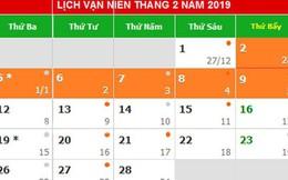 Đề xuất Tết Dương lịch 2019 nghỉ 5 ngày, Tết Âm lịch nghỉ 9 ngày  Xã hội
